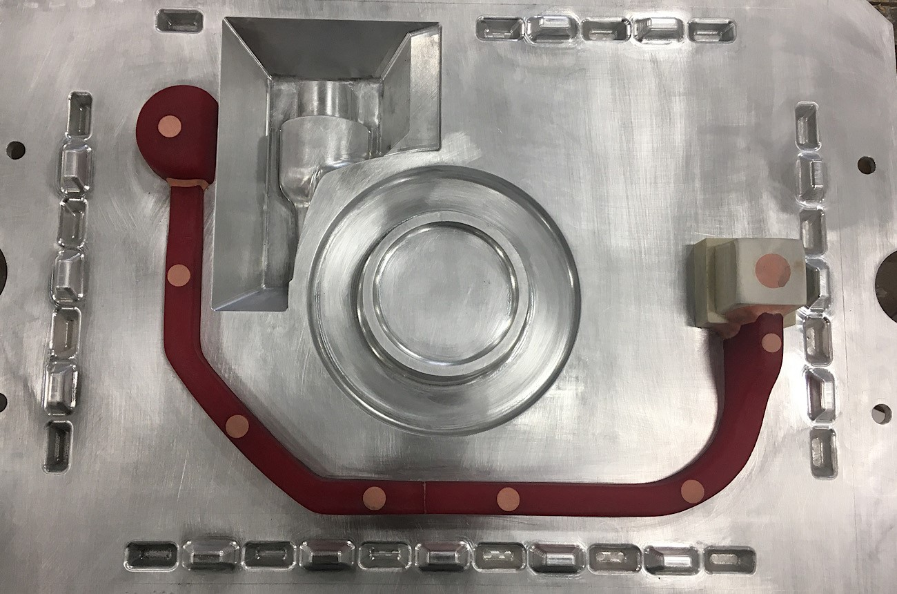 Aluminum Matchplate with Chainlock