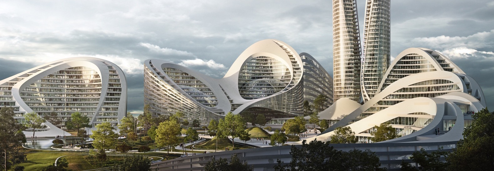 komplexe Gebäudeplanung