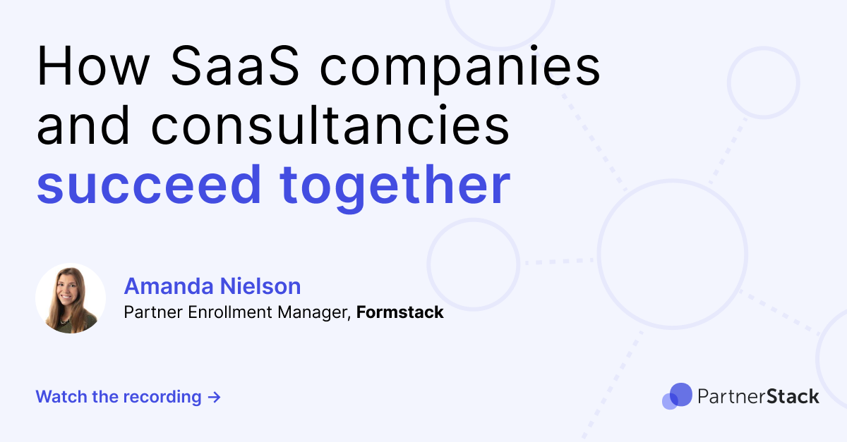 How SaaS companies and consultancies succeed together