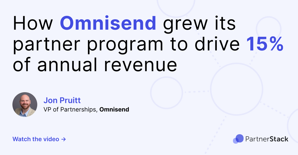 How Omnisend grew its partner program to drive 15% of annual revenue