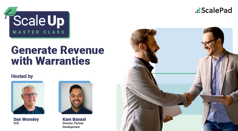 Scale Up! Master Class - Generate Revenue with Warranties
