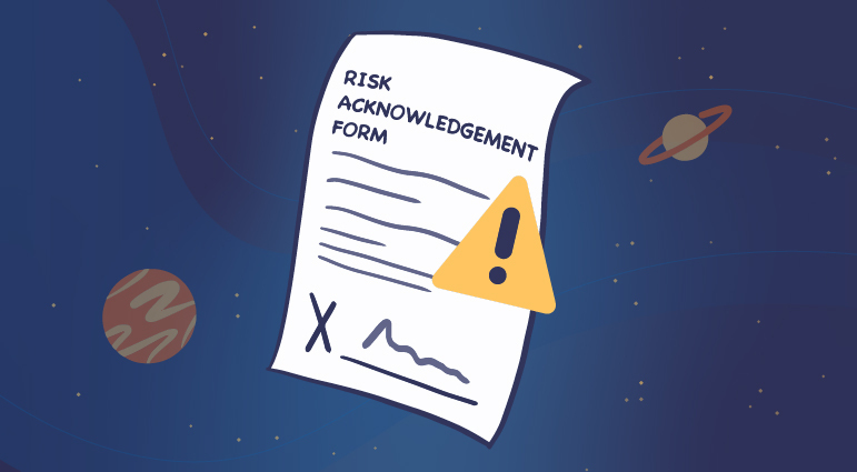 Risk Acknowledgement Form / Warranty Coverage Notice to Use with Clients