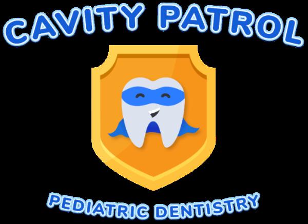 cavity patrol pediatric dentistry logo