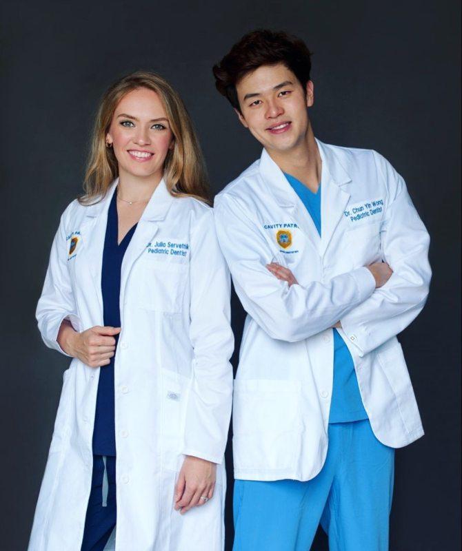 Dr. Chun and Dr. Julia