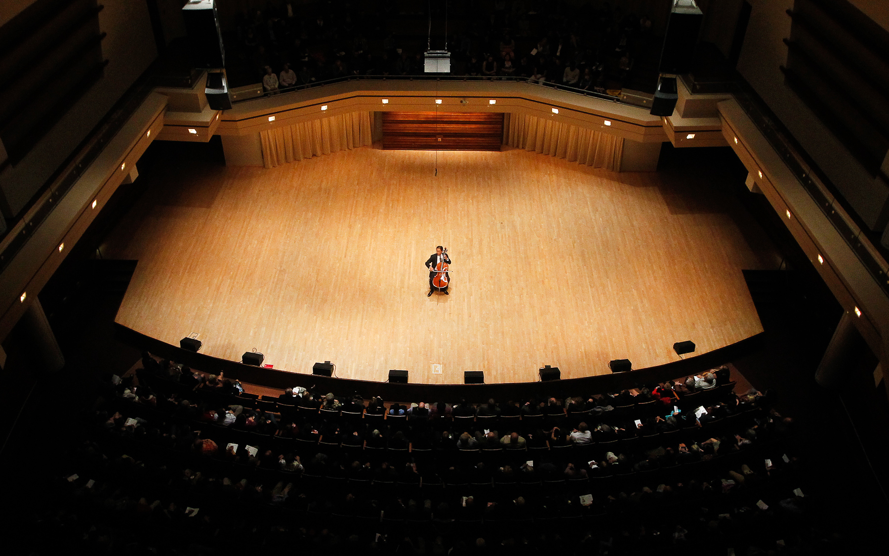 a performance at the North Central College Wentz Concert Hall