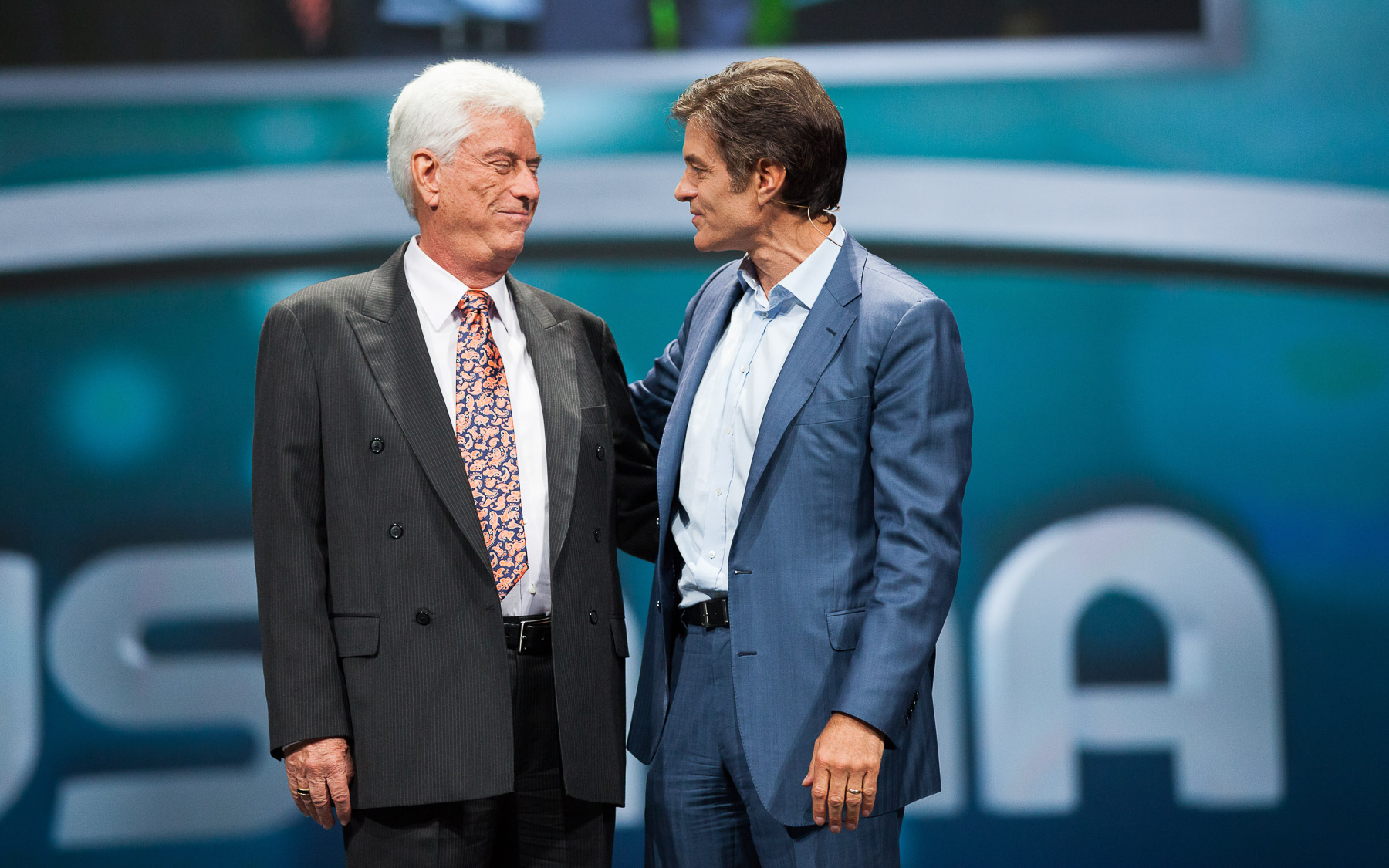 Photo of Dr. Wentz with Dr. Oz