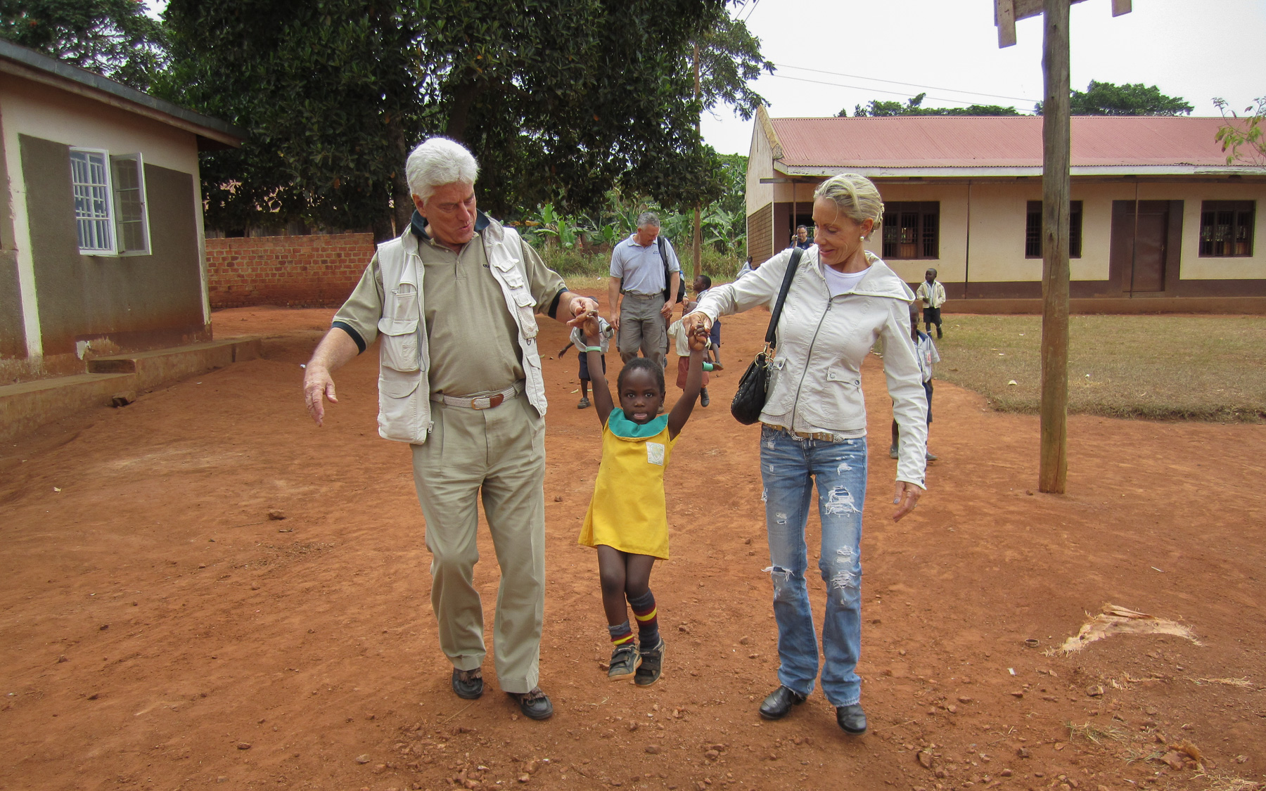 Photo of Dr. Wentz and Prudence in Malawi