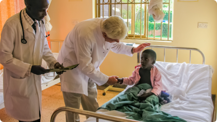 Dr. Wentz' efforts as a humanitarian that bring him the most joy.