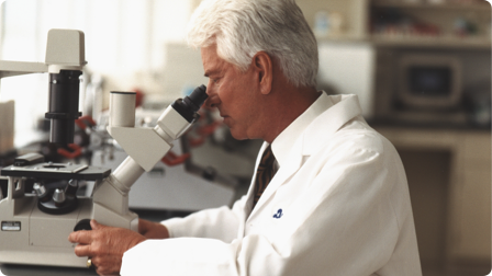 Dr. Myron Wentz is a world-renowned scientist