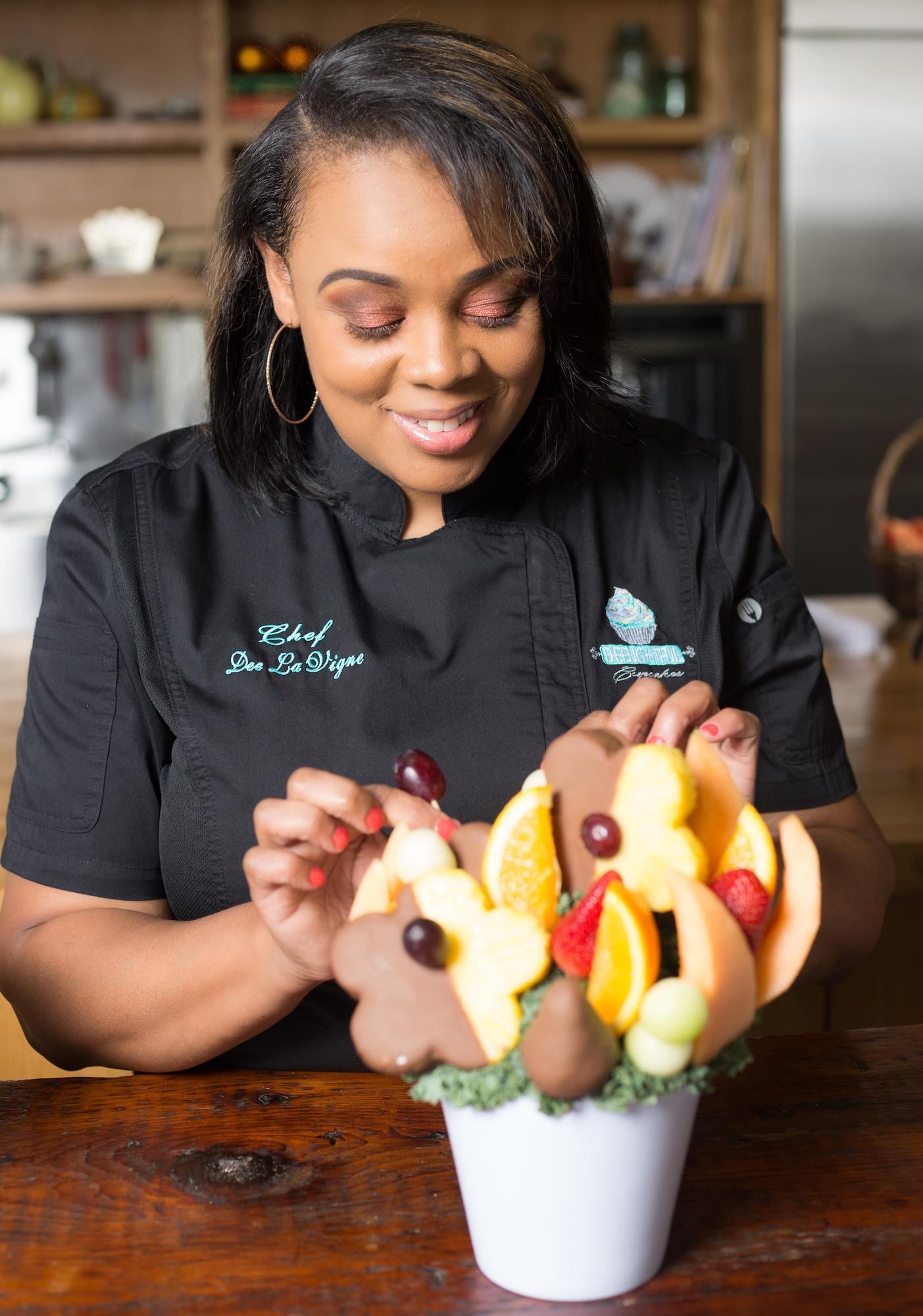 Chef Dee Lavigne from Deelightful Desserts