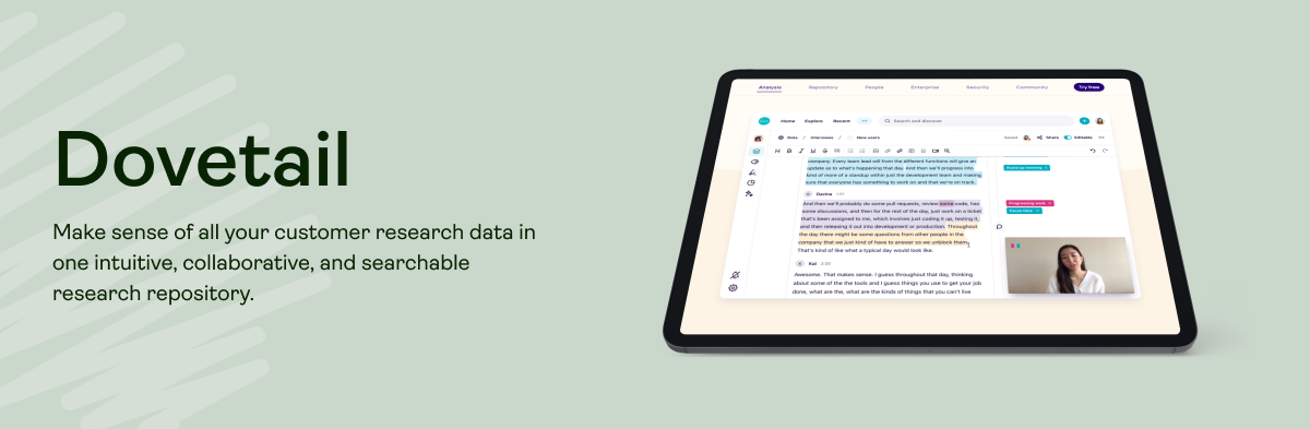ux-research-tool_document-research_dovetail