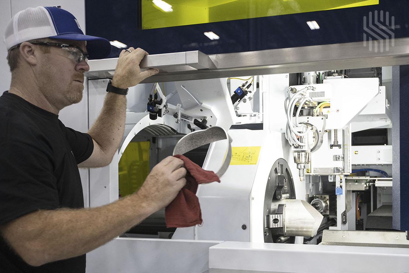Laser Cutting in Metal Fabrication