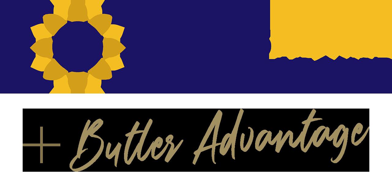 Kansas Promise Scholarship plus Butler Advantage logo