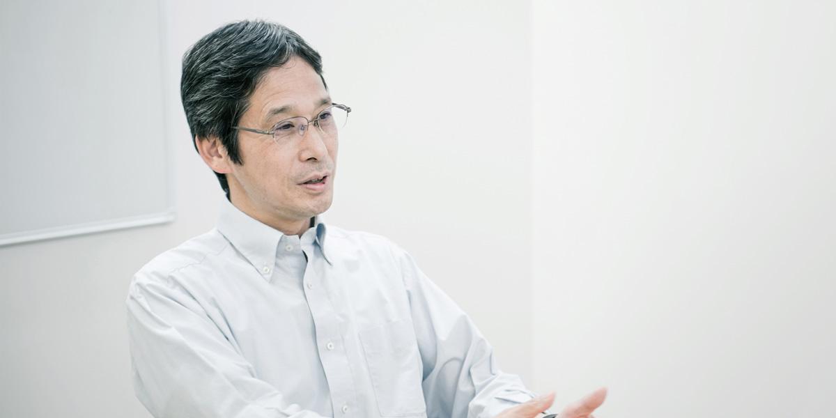 米田靖之氏の写真