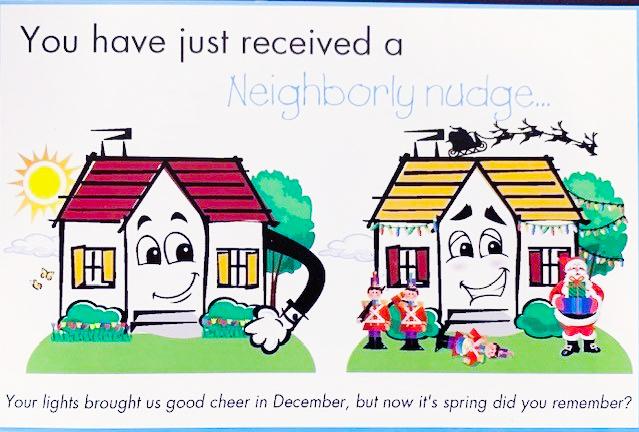 Neighborly-nudge