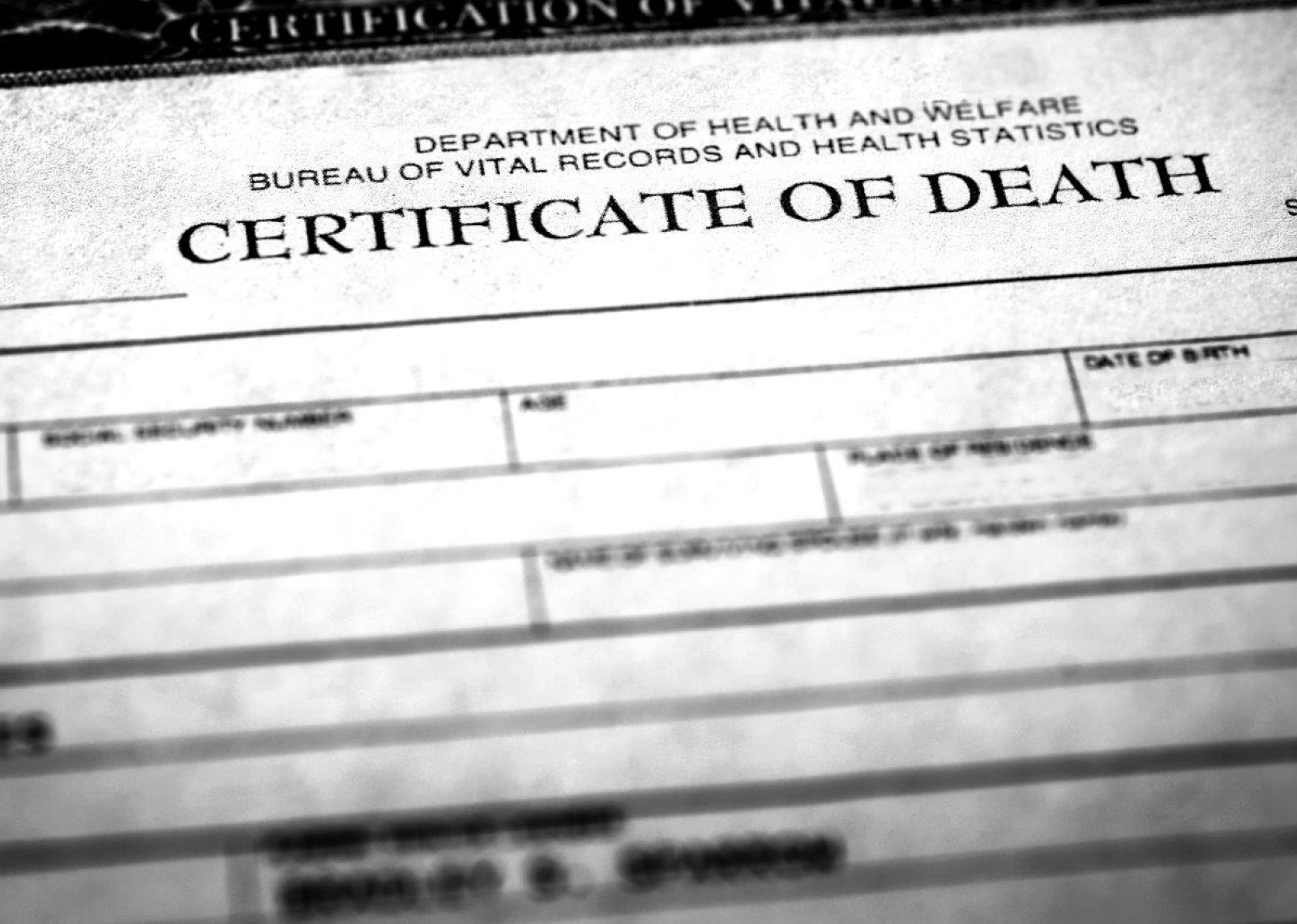 How to Get a Death Certificate