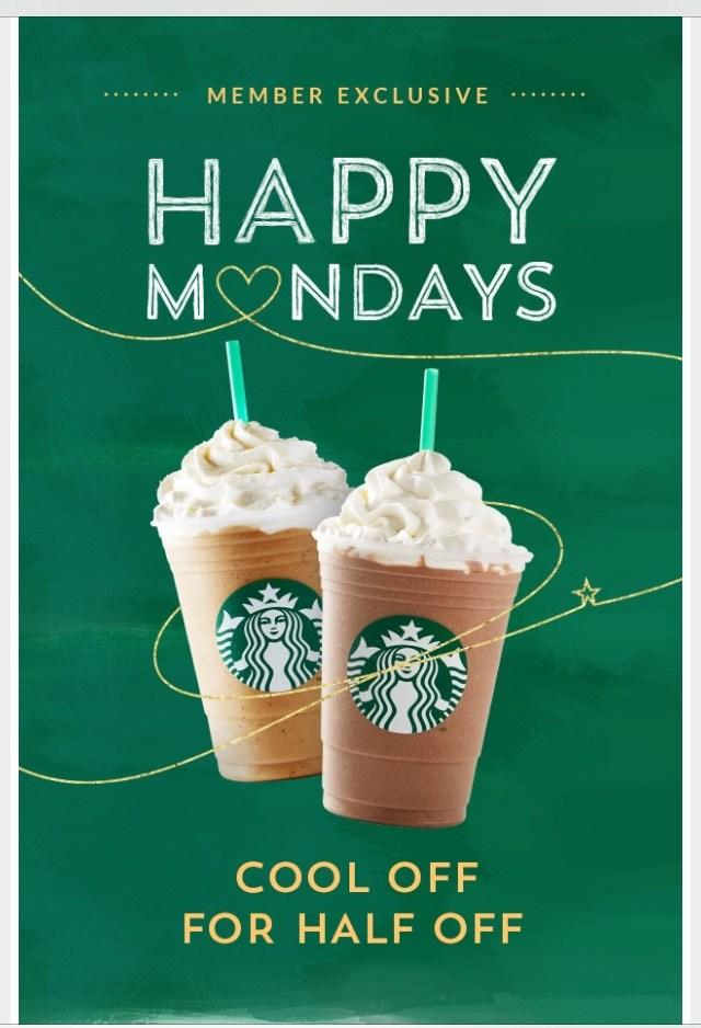 Starbucks uses FOMO by limiting offers to Mondays, for example.