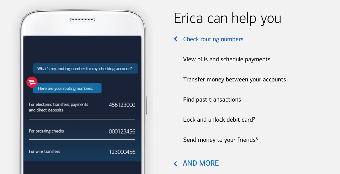 One Million People Are Now Using Erica - BofA's AI-Powered Chatbot