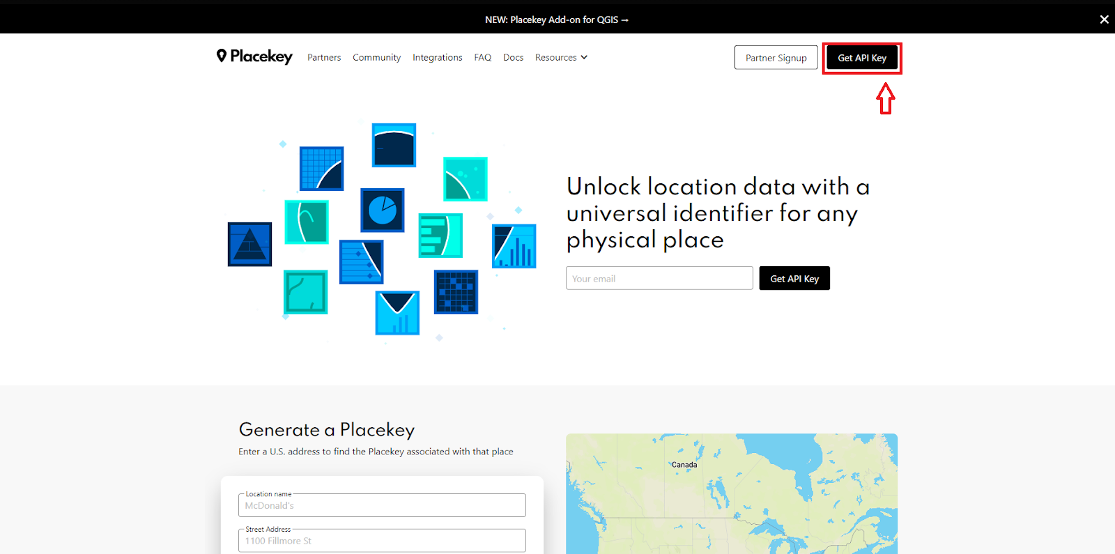 Using Placekey without Addresses (Latitude and Longitude Only)