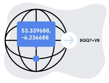 How Google Maps Plus Codes work
