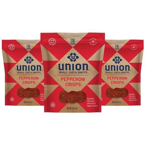 Union Pepperoni Crisps