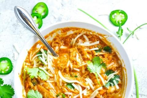 Keto Meal - Shredded Chicken Chili