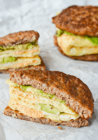 Keto Meal - Keto Breakfast Sandwich