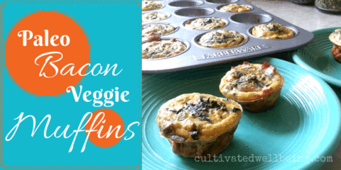 Keto Meal - Bacon Veggie Muffins