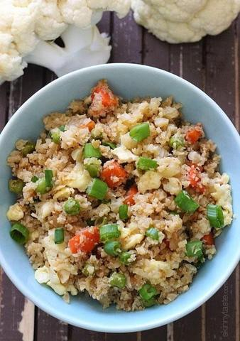Keto Meal - Cauliflower Fried Rice