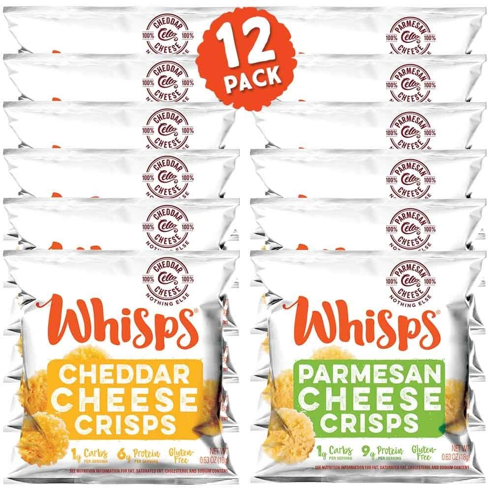 Whisps BBQ Cheese Crisps‍