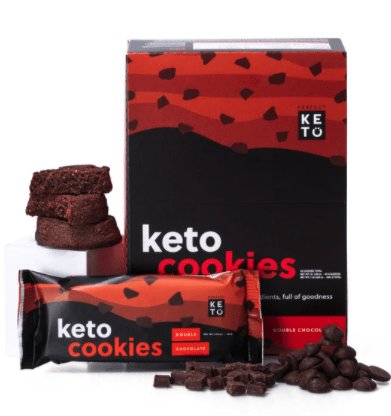 Perfect Keto Double Chocolate Cookies