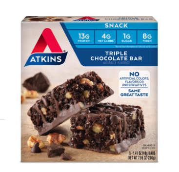 Atkins Granola Snack Bars