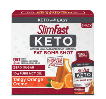 Slimfast Keto Far Bomb Shots