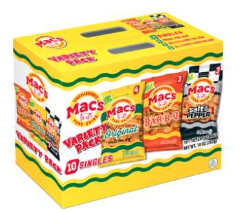 Mac's Pork Rind Variety Pack