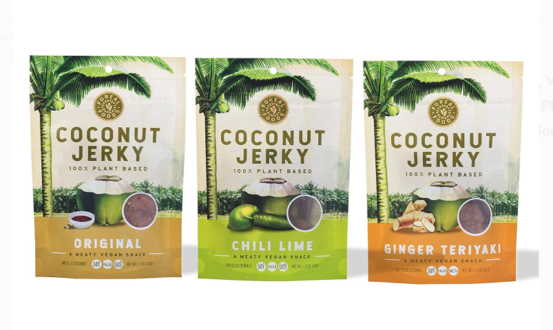 Coconut Jerky Sampler Packs