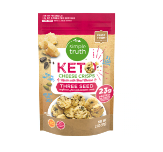Simple Truth Keto Seed Crisps at Kroger
