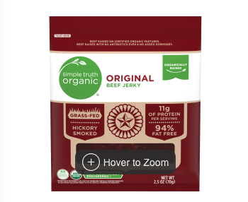 Simple Truth Organic Beef Jerky at Kroger