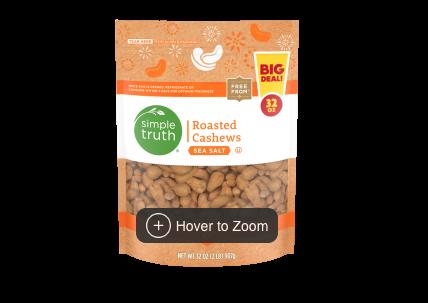 Simple Truth Sea Salt Roasted Cashews at Kroger