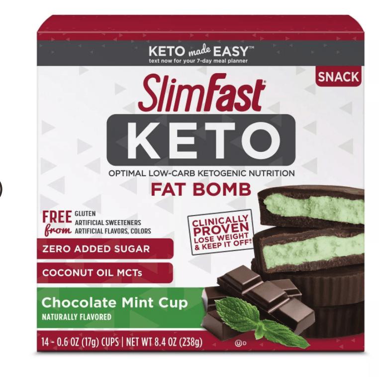 SlimFast Keto Snacks