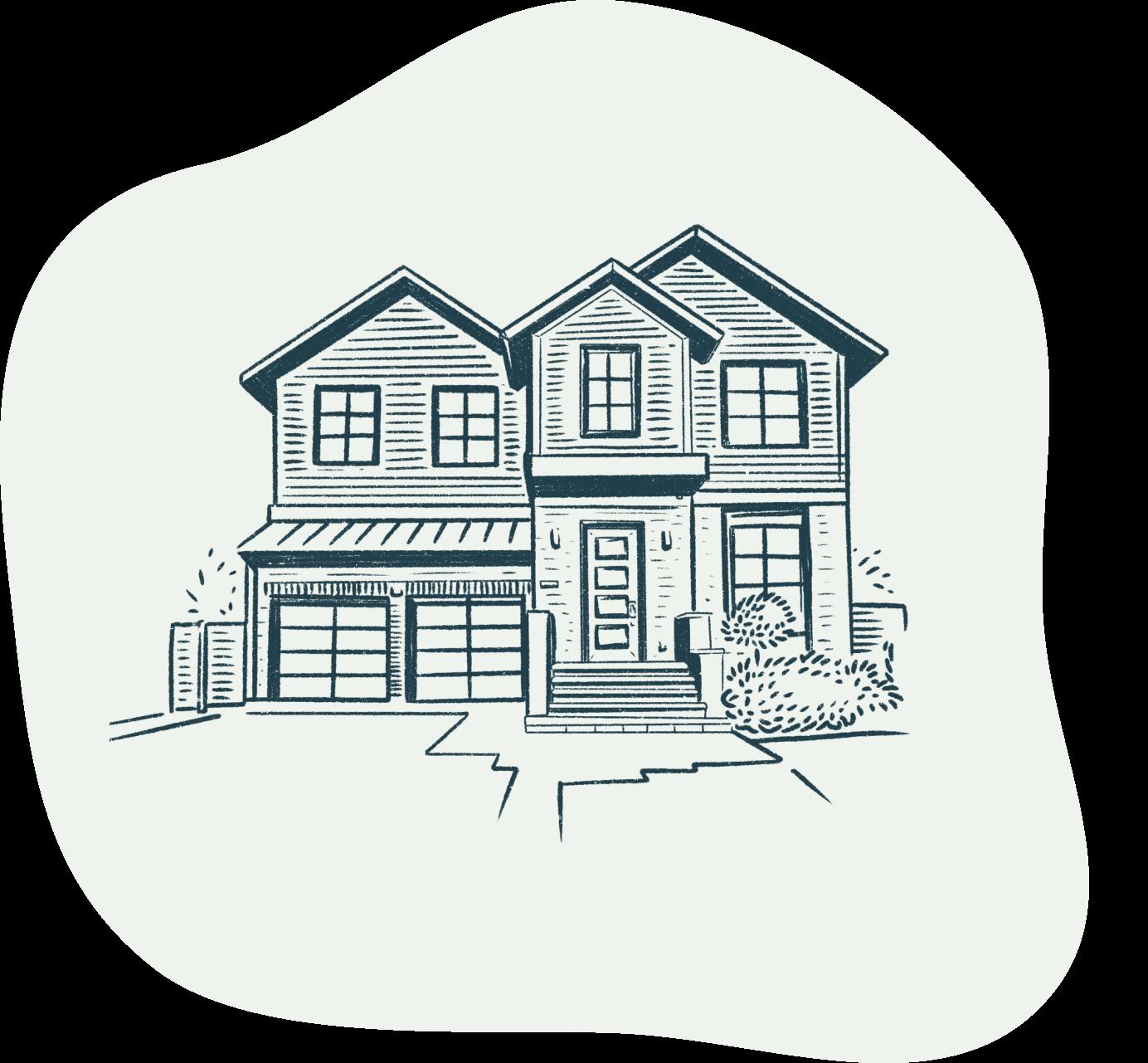 GetGround illustration of a house