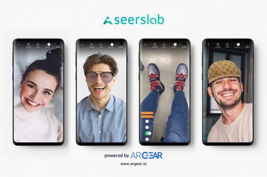 시어스랩의 가상피팅 서비스 'AR Gear'