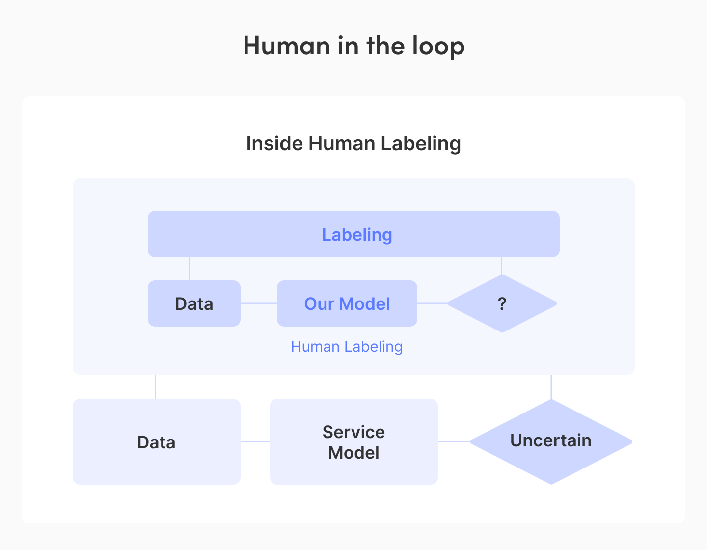 Human in loop² 의 도식화