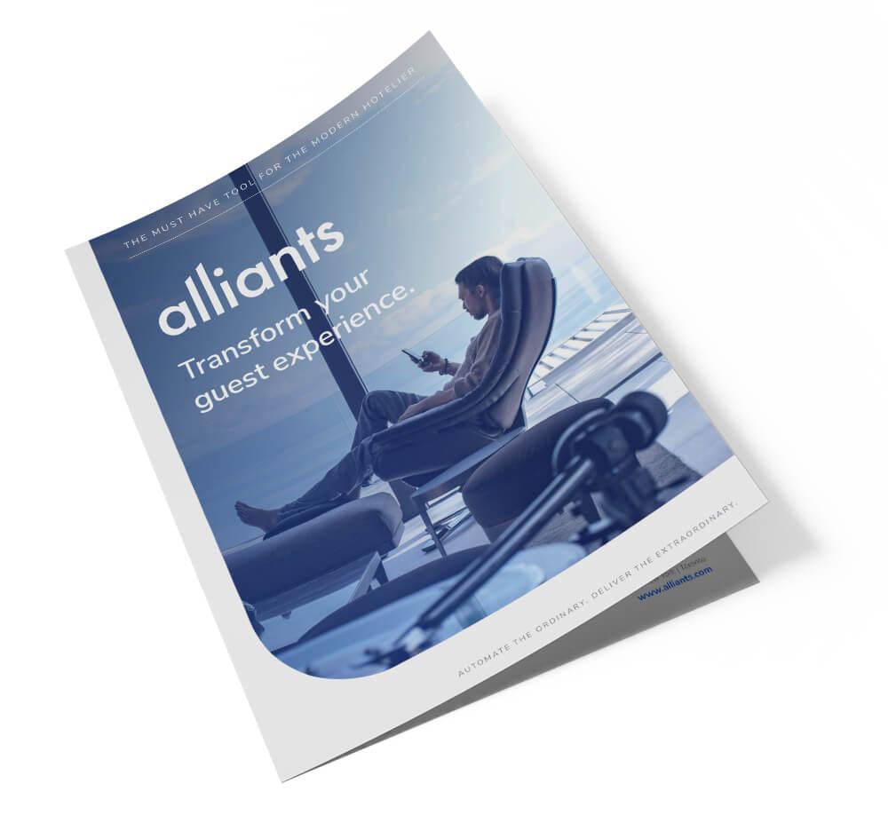 Alliants Experience Platform brochure