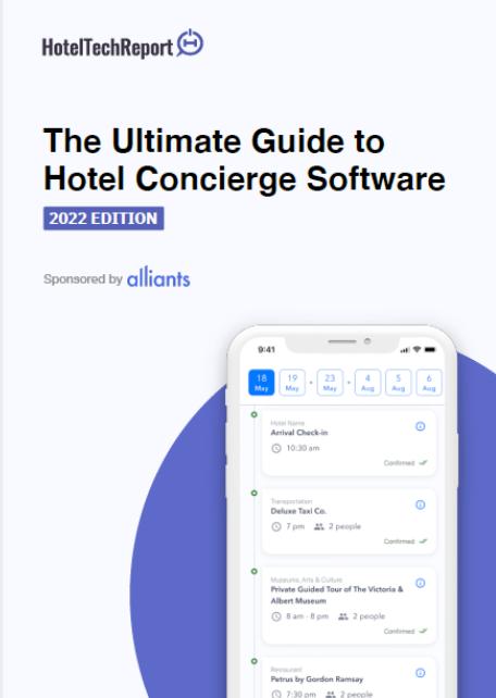 Concierge Software Buyers Guide