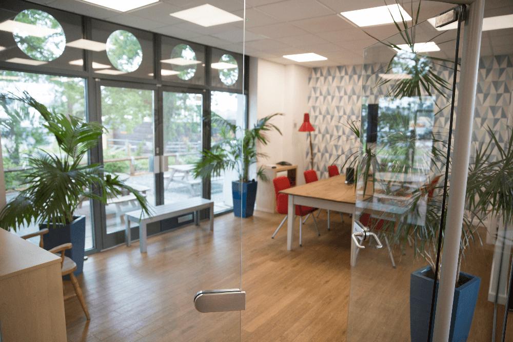 Inside meeting room