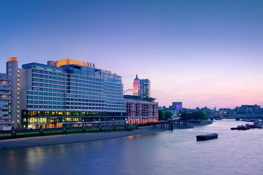 Exterior of Sea Containers London