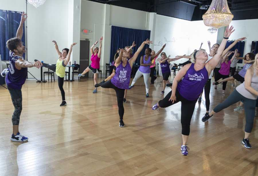 LaBlast Dance Fitness Class in action