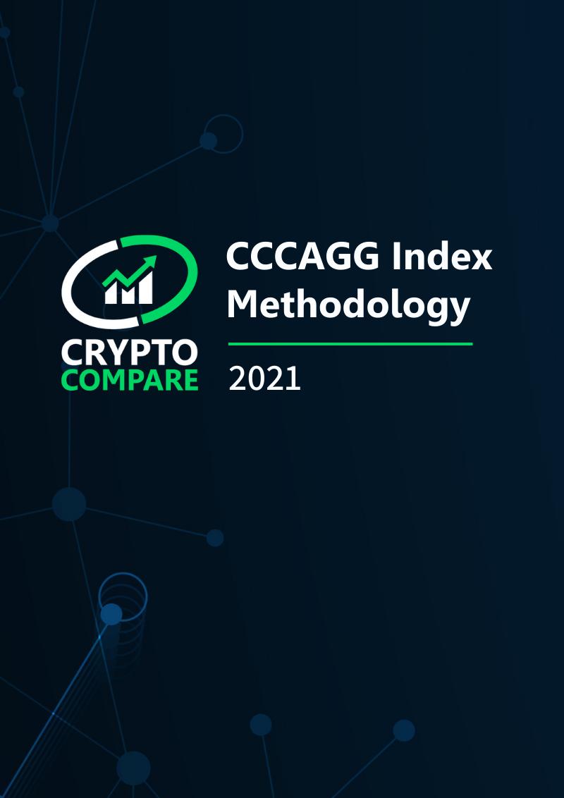 CryptoCompare Aggregate Index Methodology
