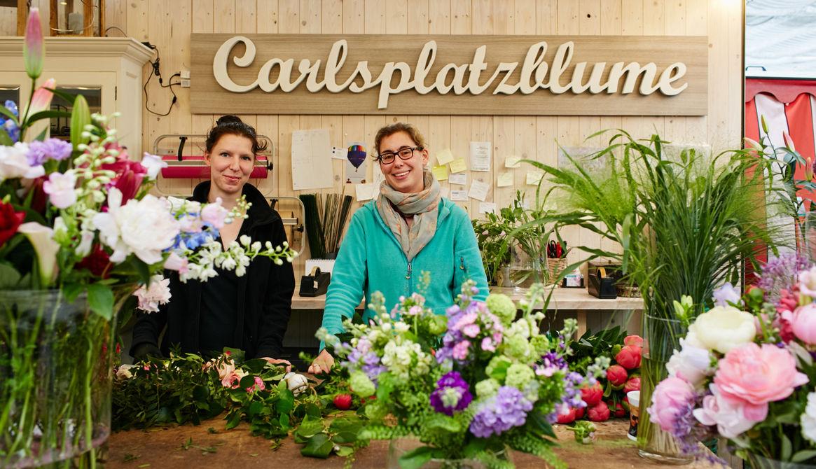 Die Carlsplatzblume