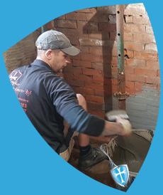 remedial damp work